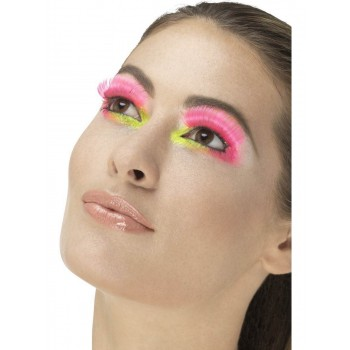 80s Party Eyelashes Fancy Dress Accessory
