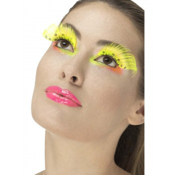 80s Polka Dot Eyelashes Fancy Dress Accessory