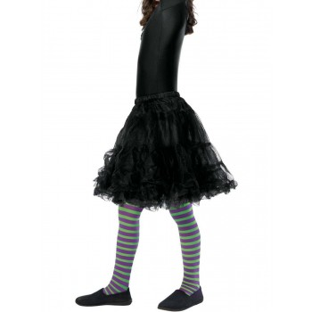 Wicked Witch Tights, Child Fancy Dress Accessory