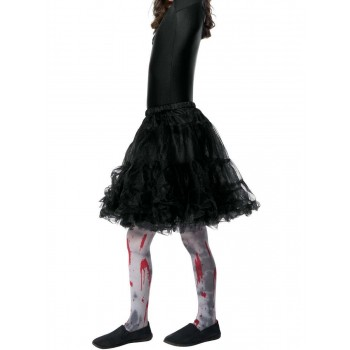 Zombie Dirt Tights, Child Fancy Dress Accessory