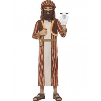 Nativity Shepherd Costume, with Robe Fancy Dress