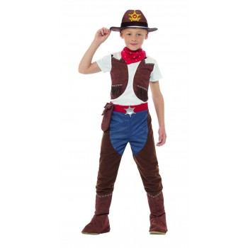 Deluxe Cowboy Costume Fancy Dress