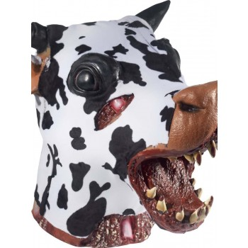 Deluxe Butchered Daisy The Cow Head Prop Fancy Dress Accessory
