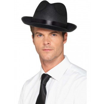 Men's Fedora Hat Fancy Dress Accessory