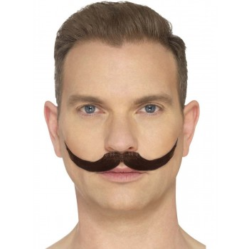 The English Moustache Fancy Dress Accessory