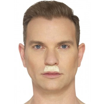 The Toothbrush Moustache Blond Fancy Dress Accessory