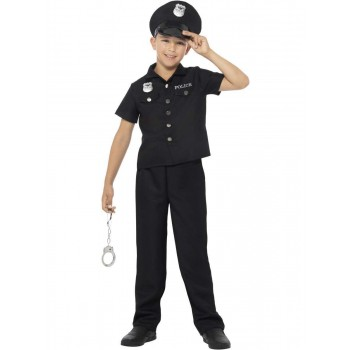 New York Cop Costume Fancy Dress