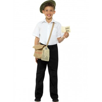 Evacuee Instant Kit Fancy Dress Accessory