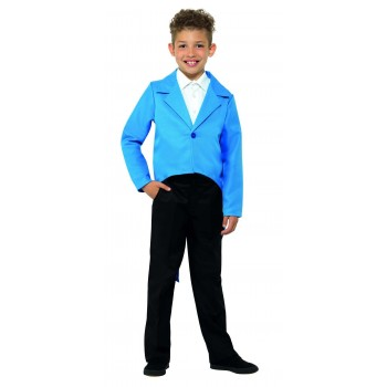 Tailcoat Blue Fancy Dress Costume