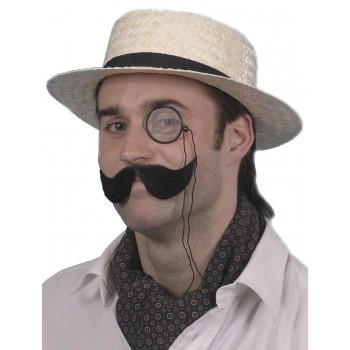 Boater Straw Hat - Fancy Dress (School)