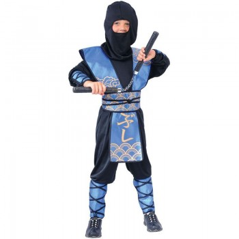 Ninja Warlord Fancy Dress Costume Boys (Ninja)