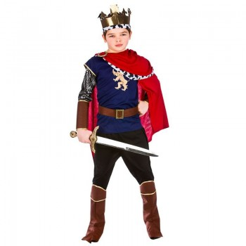 Boys Deluxe Ancient Medieval Camelot King Arthur Fancy Dress Costume