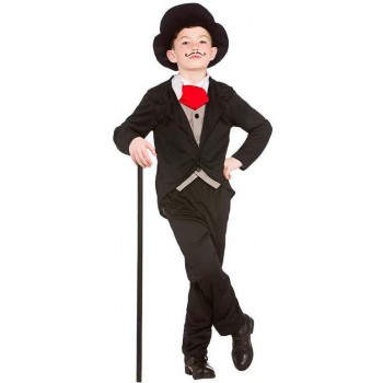 Boy'S Victorian Gentalmen Fancy Dress Costume