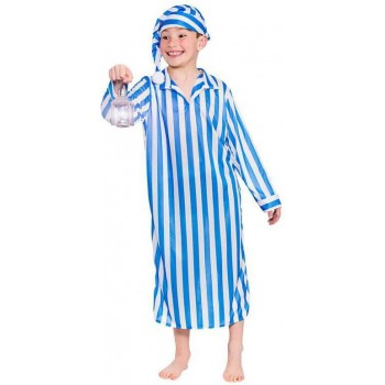 Boy'S Wee Willie Winkie Fancy Dress Costume