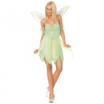 Neverland Fairy Fancy Dress Costume Ladies (Fairy Tales)