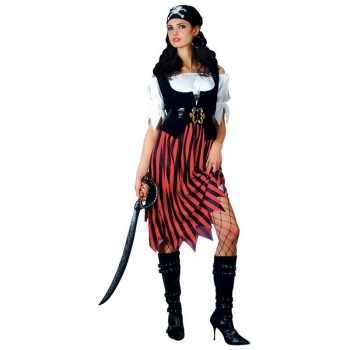 Pirate Lady Fancy Dress Costume Ladies (Pirates)