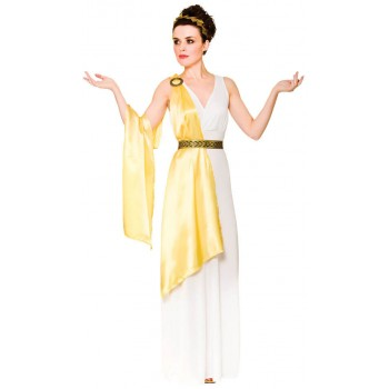 Ladies Ancient Greek Goddess Fancy Dress Costume