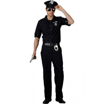 New York Cop Fancy Dress Costume Mens (Cops/Robbers)