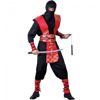 Ninja Master Fancy Dress Costume Mens (Ninja)