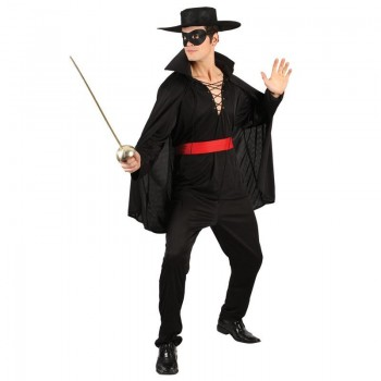Bandit Hero Fancy Dress Costume Mens (Cultures)