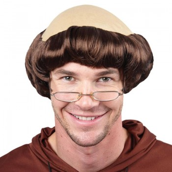 Monk Wig - Fancy Dress Mens (Vicars/Nuns)