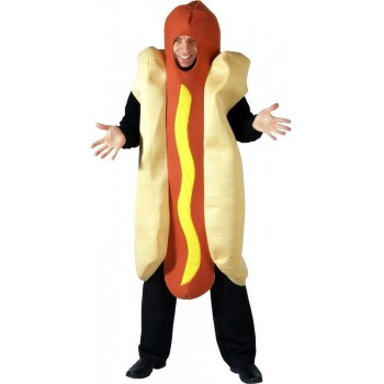 Hot Chili Dog Fancy Dress Costume (Food)