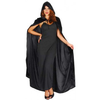 Ladies Deluxe Widow'S Robe (One Size) Costume 10-12 (Halloween)