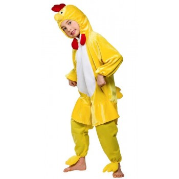 Kids Yellow Chick Costume  Fancy Dress (Animals)
