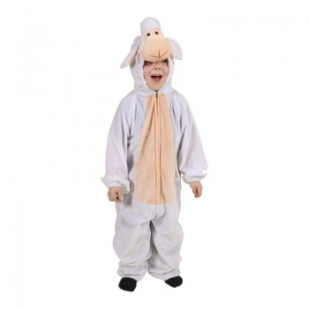 Childs Unisex Sheep Animal Outfit - (White)