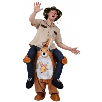 Cute Kangaroo Carry Me Mascot Fancy Dress Costume