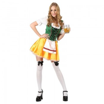 Ladies Sexy Bavarian Beerfest Girl Fancy Dress Costume