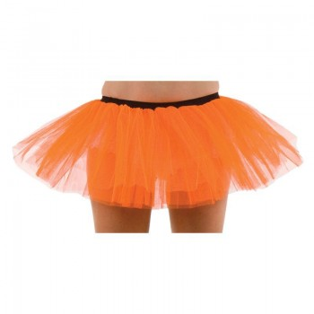 Club Tu Tu-Orange - Fancy Dress Ladies