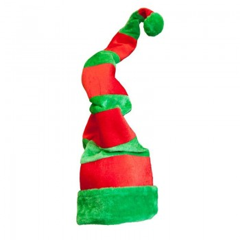Festive Giant Crazy Elf/Santas Helper Hat