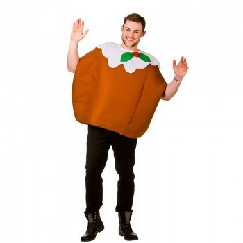 Adult Xmas Pudding Christmas Fancy Dress Costume