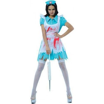 Bloodthirsty Nurse Fancy Dress Costume Ladies (Doctors/Nurses)