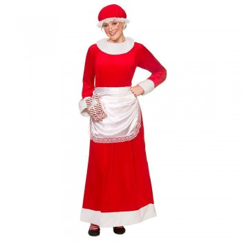 Deluxe Mrs Santa Claus One Size Costume
