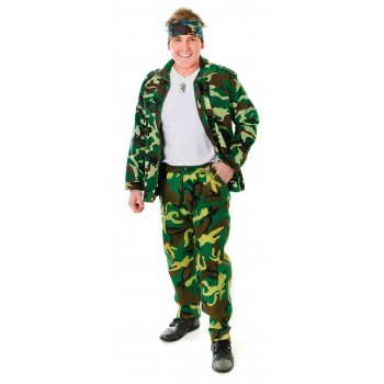 Mens Military Camouflage Trousers