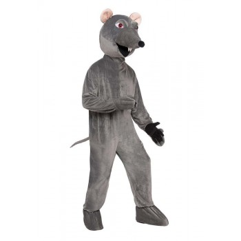 Rat Big Head Costume Fancy Dress Costume