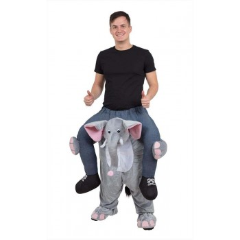 Elephant Piggy Back Fancy Dress Costume