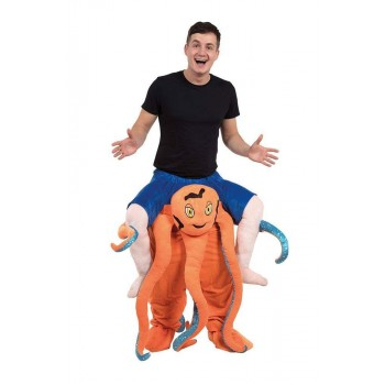 Octopus Piggy Back Fancy Dress Costume