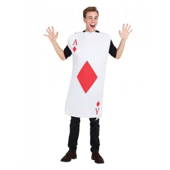 Ace Of Diamonds Fancy Dress Costume