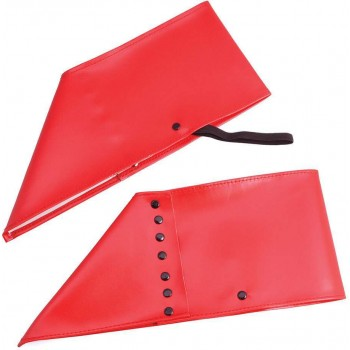 Spats. Red Accessories