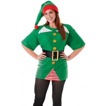 Jolly Elf Kit Fancy Dress Costume