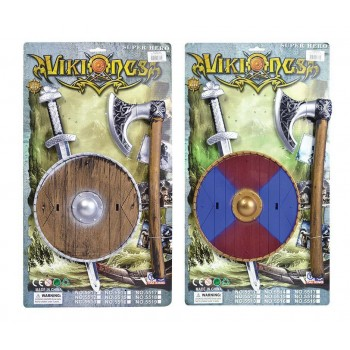 Viking Sword, Shield + Axe Set Swords/Knives