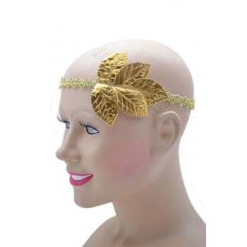 Gold Leaf Headband (Fancy Dress)