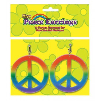 Rainbow Hippie Ear Rings Accessories
