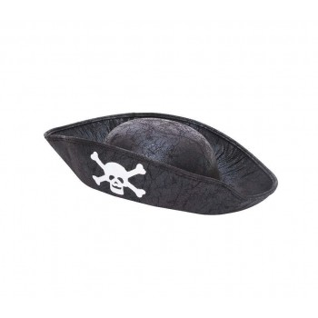 Pirate Hat. Black. Childs Size Hats