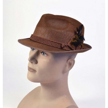 Oktoberfest Hat. Brown Hats