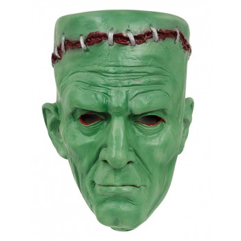 Adults Green Frankenstein Halloween Fancy Dress Mask