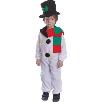 Snowman Fancy Dress Costume